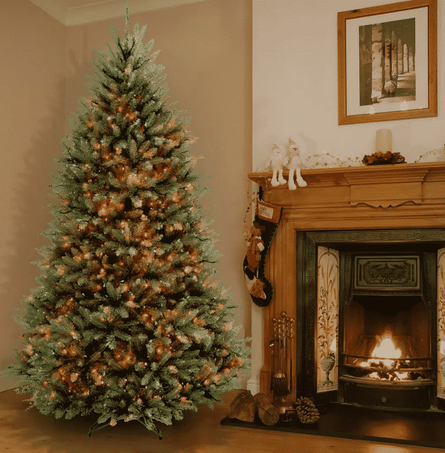 National Tree 7′ Dunhill Fir Hinged Tree $249.99