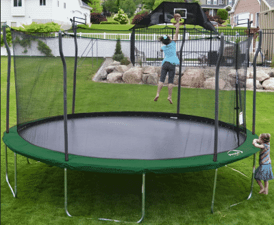 Propel Trampolines 15' Round with Safety Net