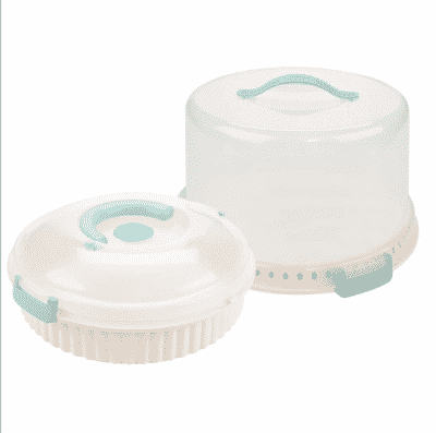 Sweet Creations 2pc Cake and Pie Carrier Set