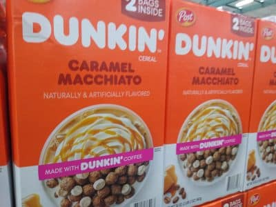 Dunkin Caramel Macchiato Cereal