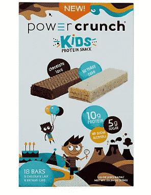 Power Crunch Kids Energy Bars