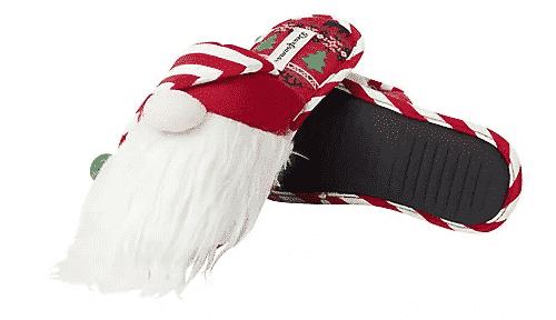 dearfoams holiday slippers