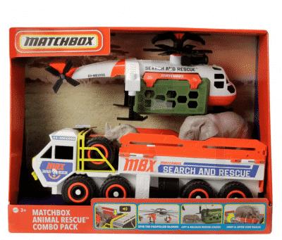 matchbox animal rescue vehicles