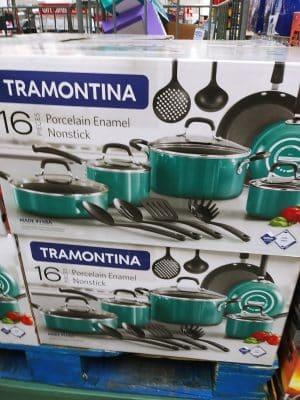 Tramontina Porcelain Nonstick 16pc Cookware Set