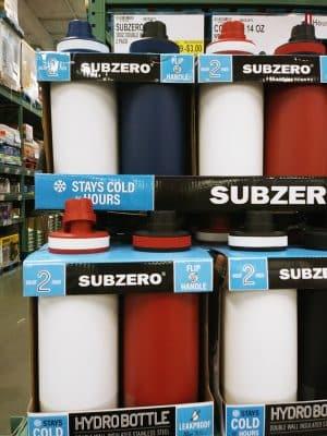 subzero hydrobottle