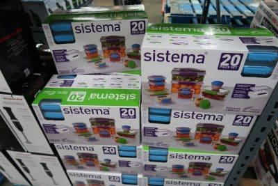 sistema 20pc food storage set