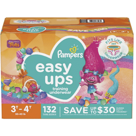 Save $8 on Pampers Easy Ups at BJs