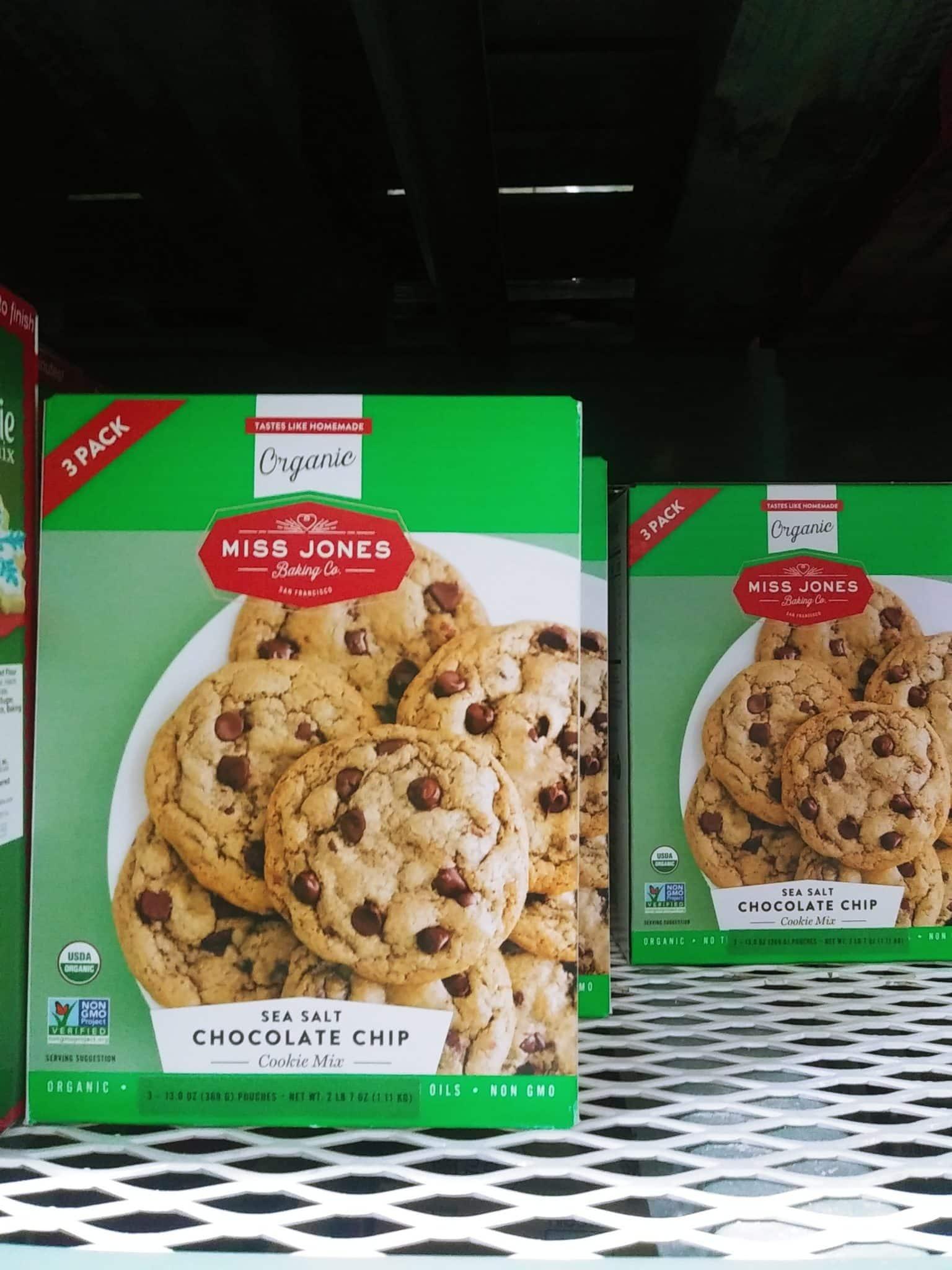 Organic Miss Jones Chocolate Chip Cookie Mix 3pk $4.99
