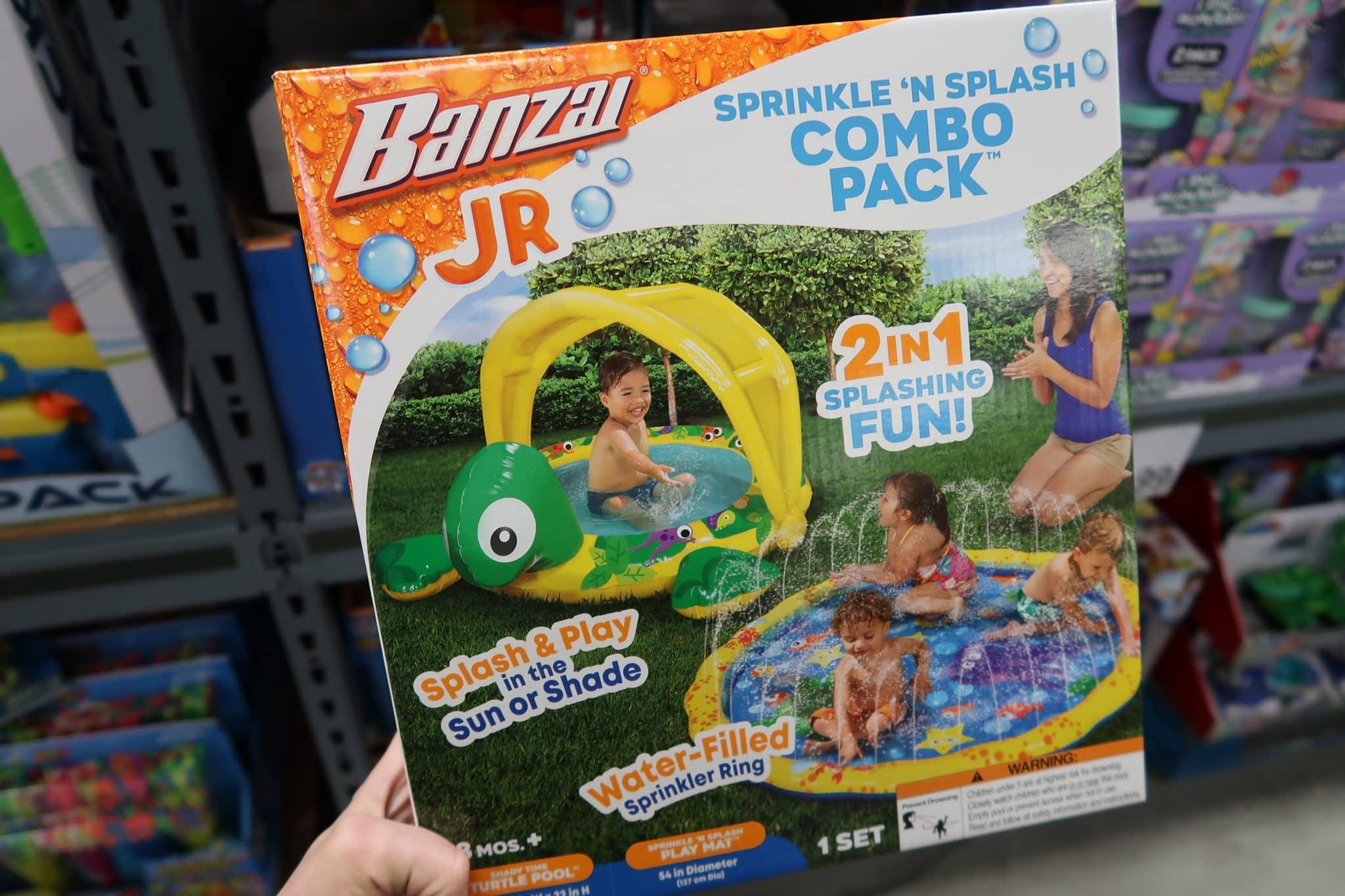 Banzai Jr. Sprinkle N' Splash Combo Pack $19.99