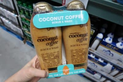 coconut coffee body wash