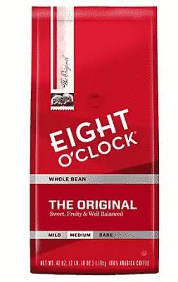 Eight O Clock Original Whole Bean Coffee