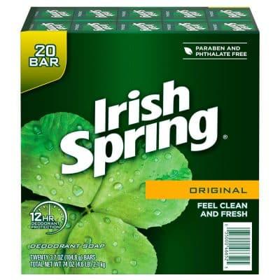 irish spring bar soap