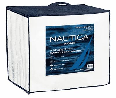 Nautica Pillows and Down Comforter