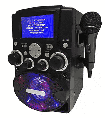 Sylvania Karaoke Machine with Mic