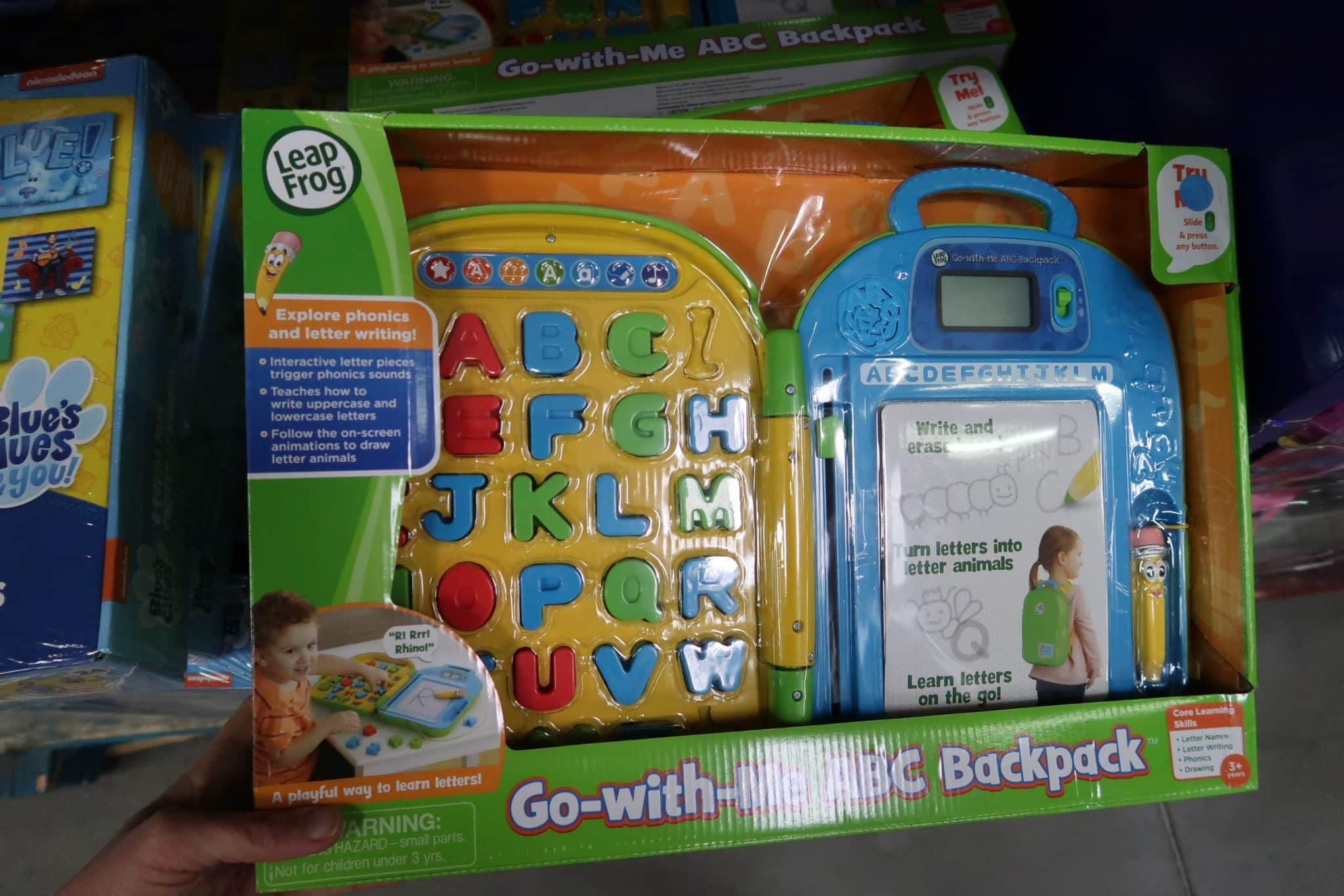 LeapFrog Go with Me Backpack ONLY $19.98