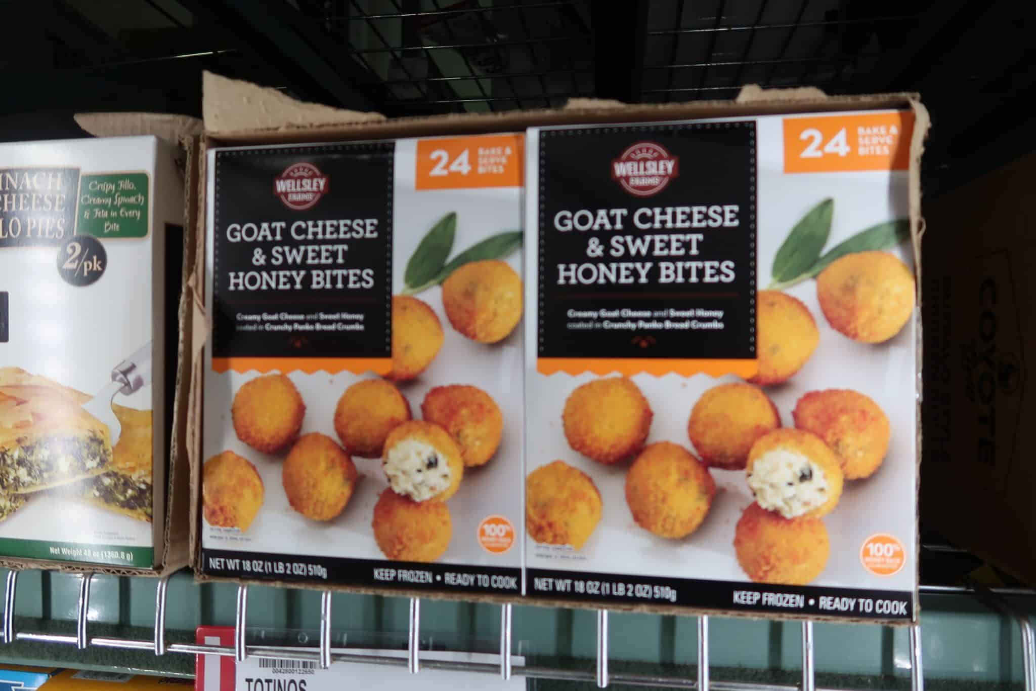 Goat Cheese & Sweet Honey Bites ONLY $7.98