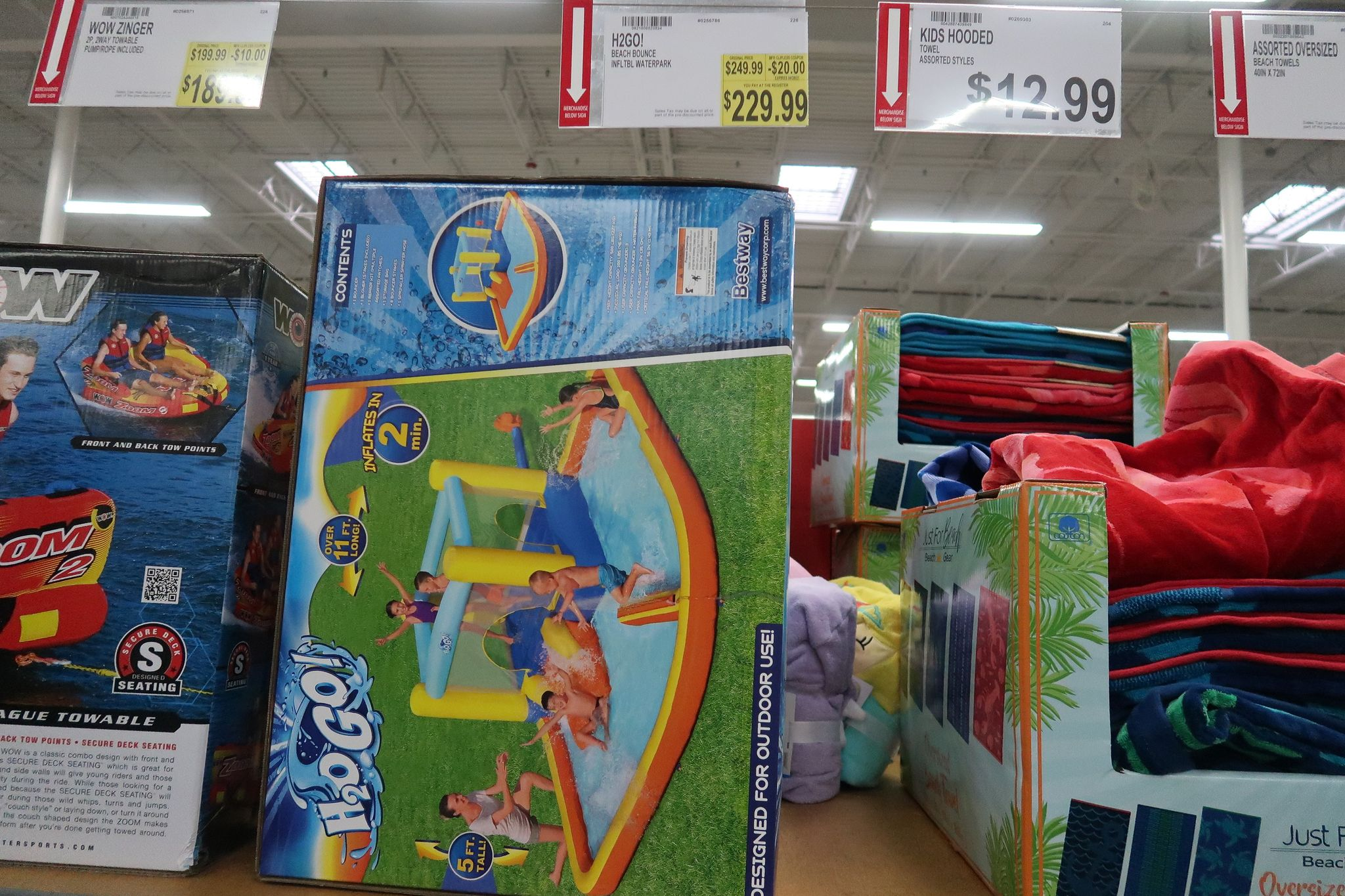H2OGO Inflatable Bounce House Pool $229.99