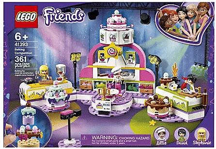 Lego Friends Baking Competition Set $32.99