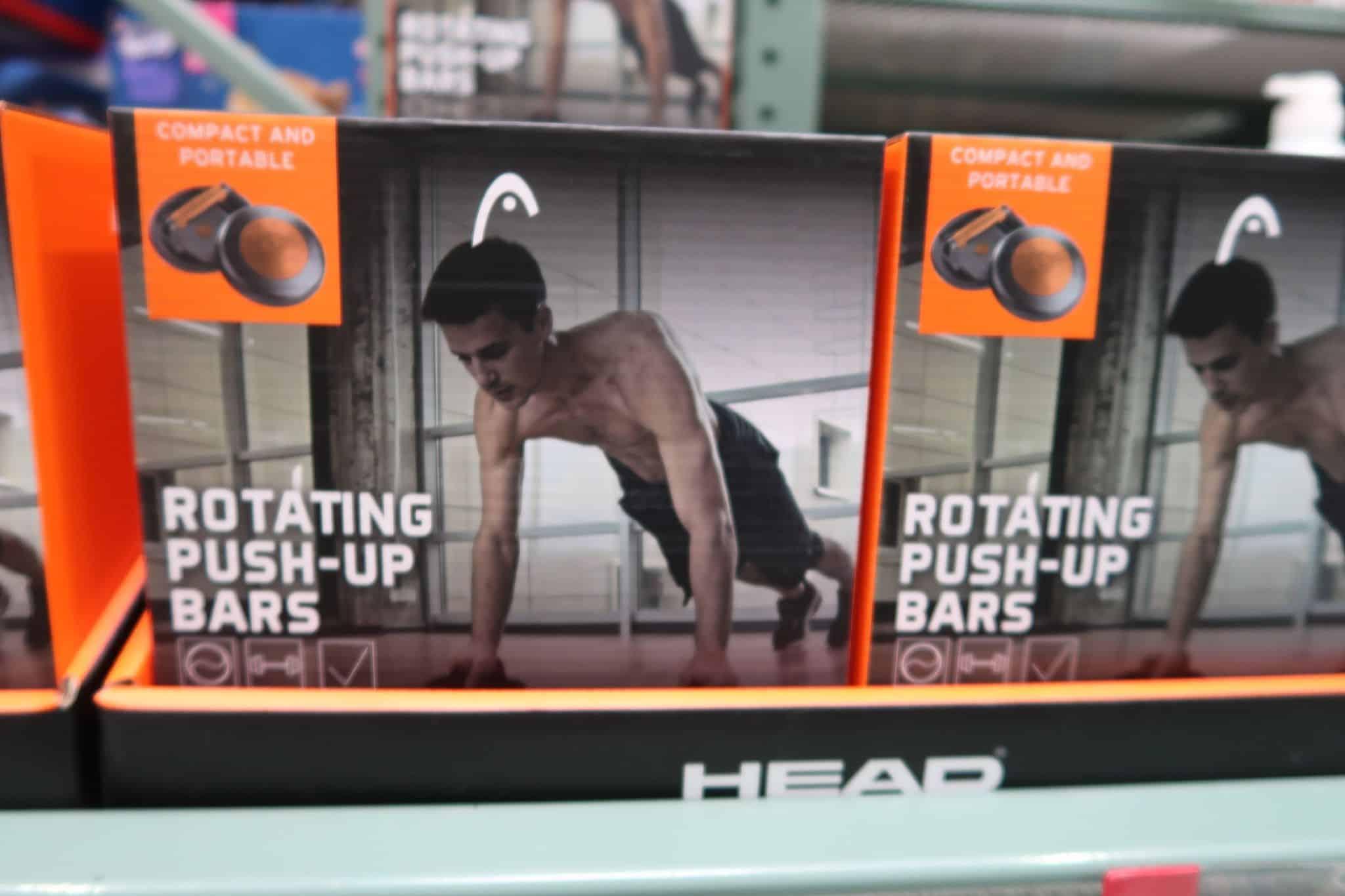 Head Fitness Rotating Push Up Bars $4.98