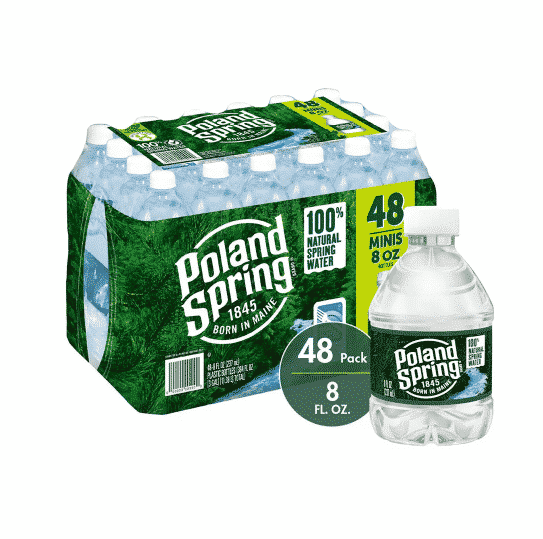 Double Coupons for Poland Springs Water 48 pk