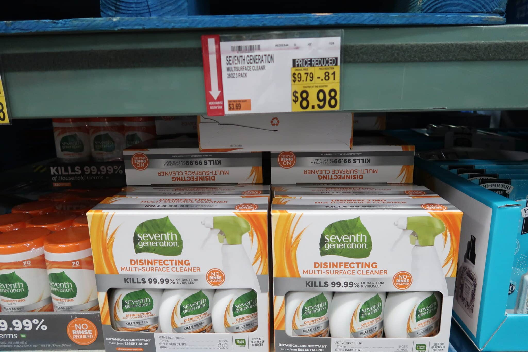 Seventh Generation Multisurface Cleaner $8.98